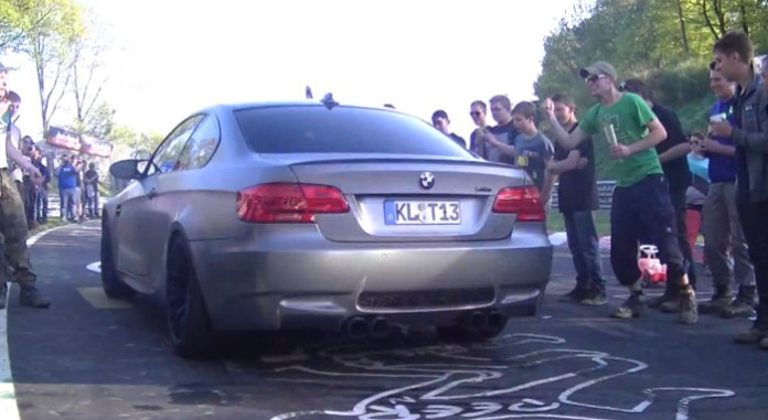 Drunk Germans and BMWs create chaos on the Nurburgring