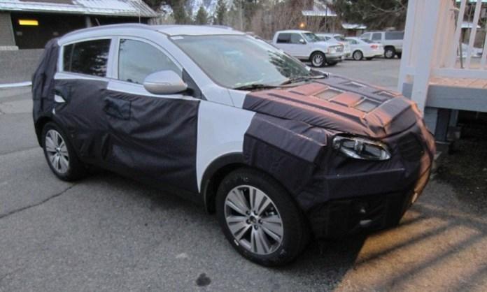 Kia Sportage facelift 2015 (1)