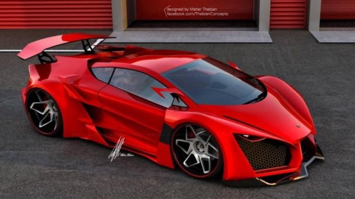 Lamborghini Sinistro Concept Study (1)