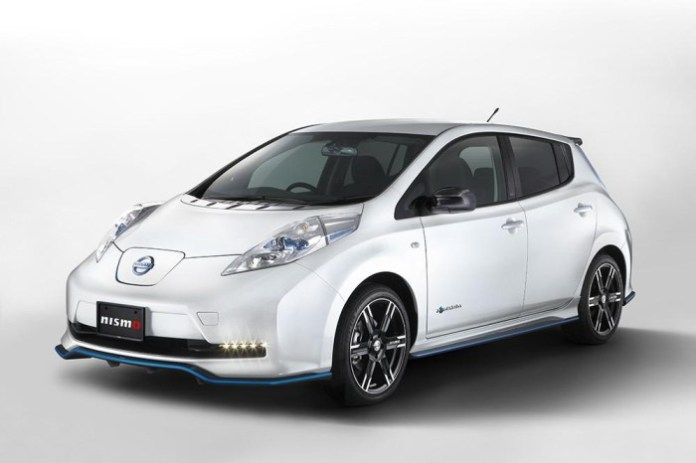 Nissan Leaf with Nismo accessories (1)