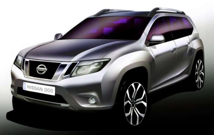 Nissan-Terrano-Official-Sketch