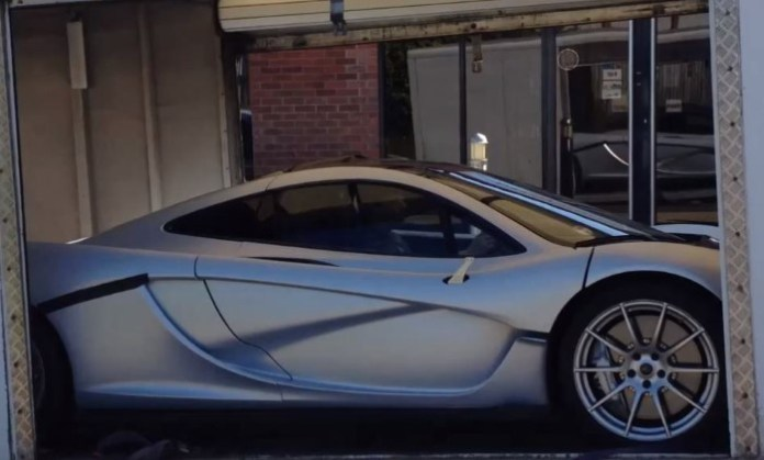 Silver McLaren P1