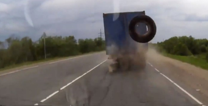 Watch Out For Truck Droppings