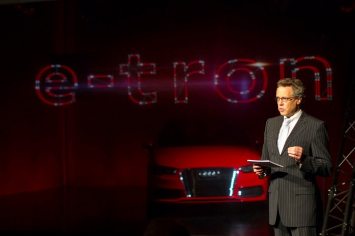 High-End-Medientechnik beim Audi future lab