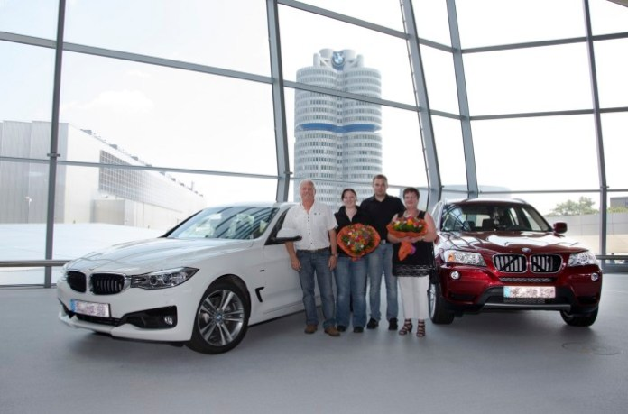 100000th vehicle delivery at BMW Welt (1)