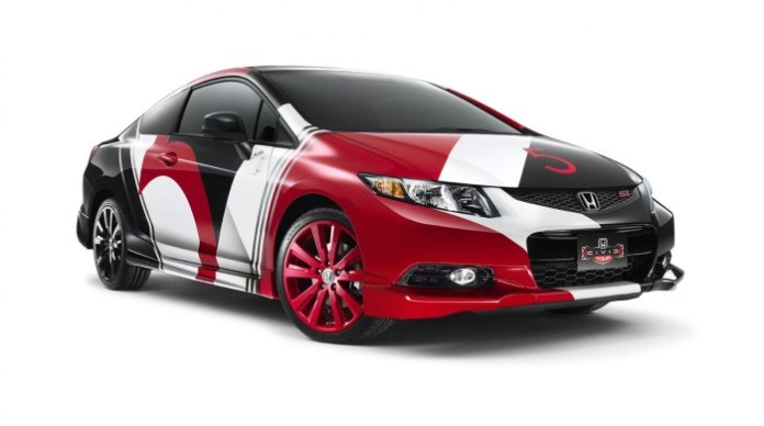Honda Civic Si Coupe designed by Maroon 5
