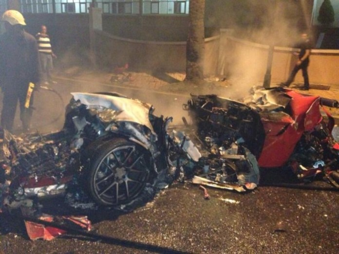 Ferrari 599 GTO crash in Dominican Republic (3)