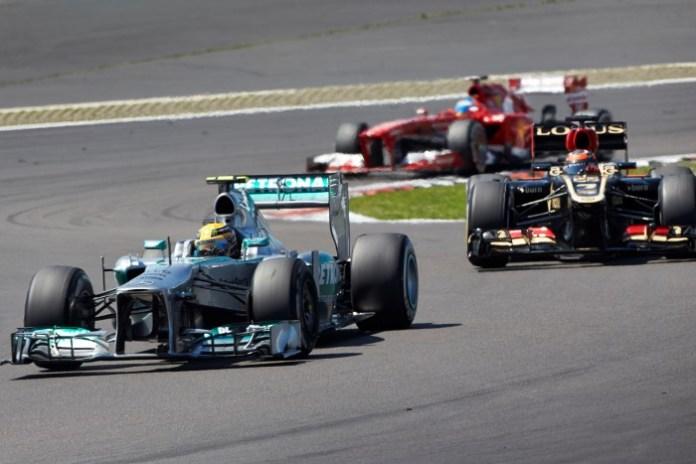 Hamilton-Raikkonen-Alonso
