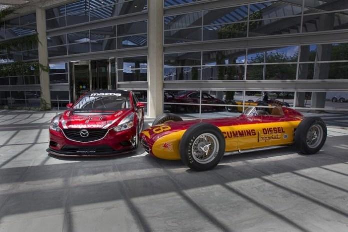Mazda6 SKYACTIV-D race car & Cummins Diesel Special 2