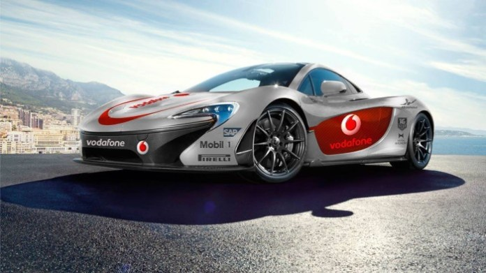 McLaren P1 with F1 livery (1)
