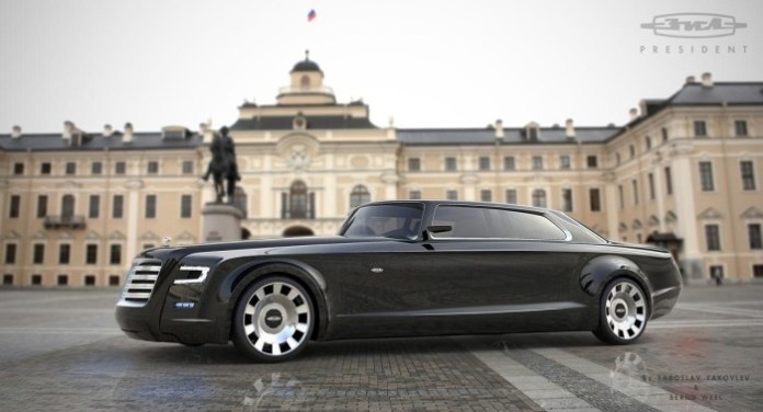Russian presidential limo concept by Yaroslav Yakovlev and Bernard Weel (1)