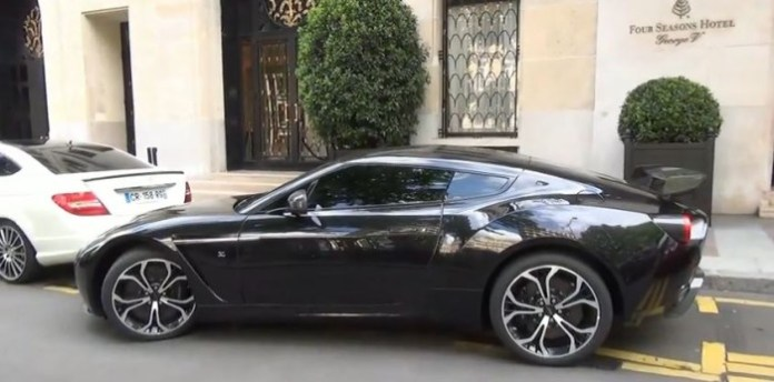 Samuel Eto Aston Martin V12 Zagato