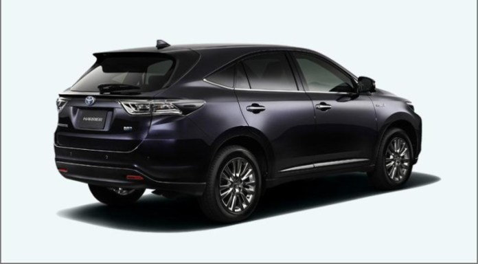 Toyota Harrier 2014 (4)