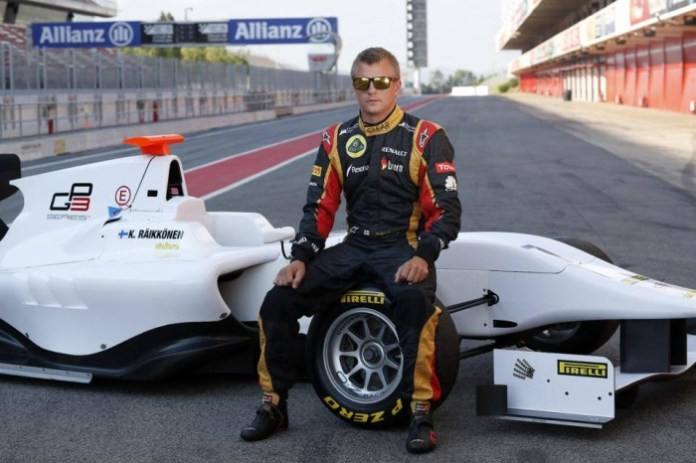 KIMI LENDS A HAND TO THE GP3 SERIES