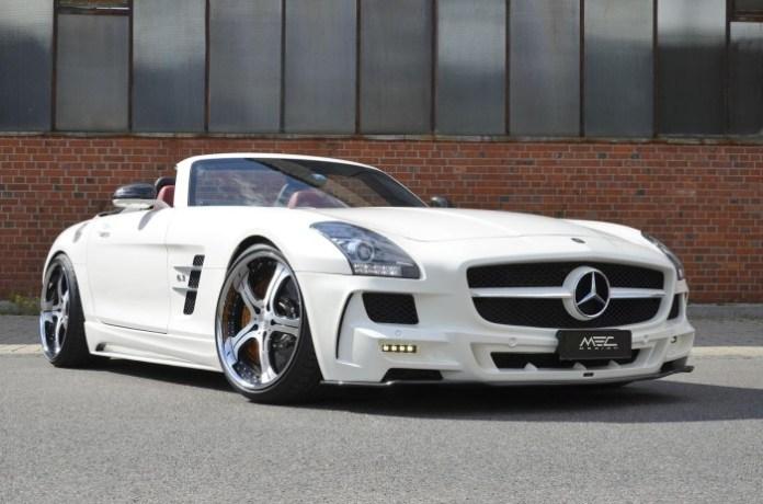 Mercedes SLS AMG Roadster by MEC Design