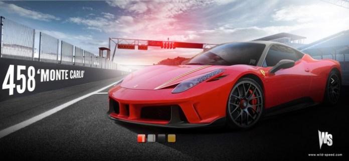 Ferrari 458 Monte Carlo Rendering (4)