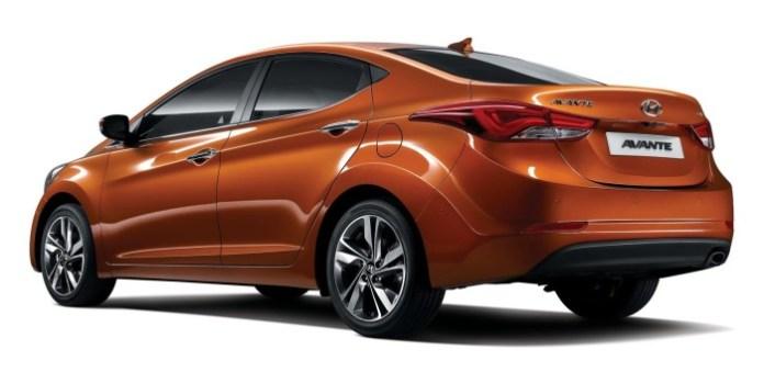 Hyundai Elantra facelift 2014 (2)