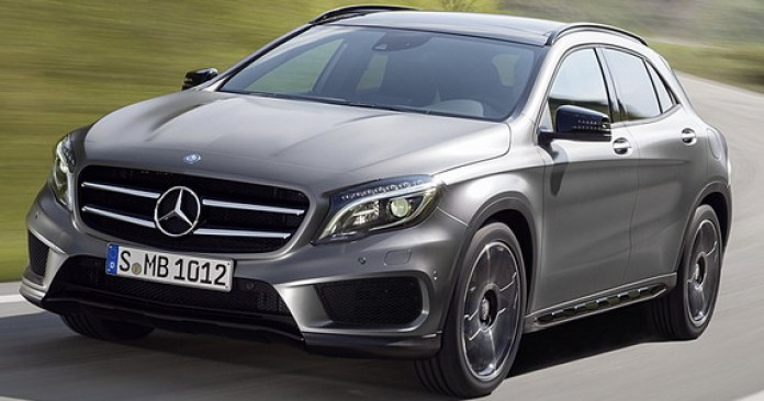 Mercedes-Benz GLA 2014 First Photos (1)