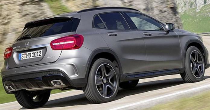 Mercedes-Benz GLA 2014 First Photos (2)