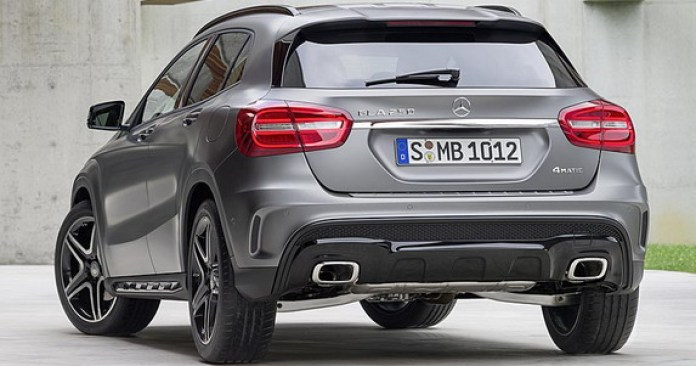 Mercedes-Benz GLA 2014 First Photos (6)
