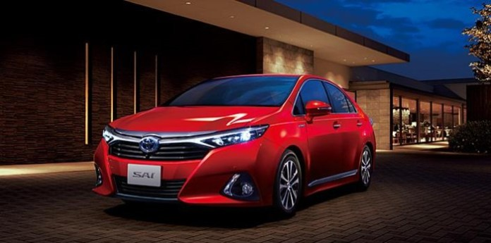 Toyota Sai Facelift 2014 (1)