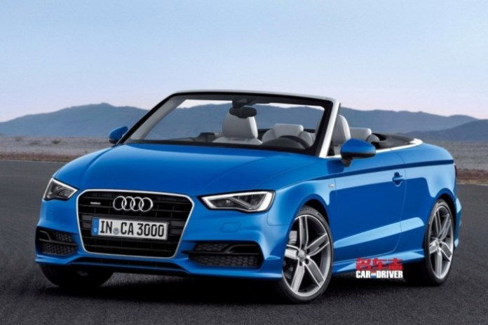 Audi A3 Cabriolet leaked (2)