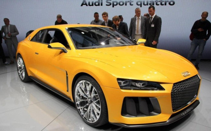 Audi Sport Quattro Concept Live in Frankfurt Motor Show 2013 (1)