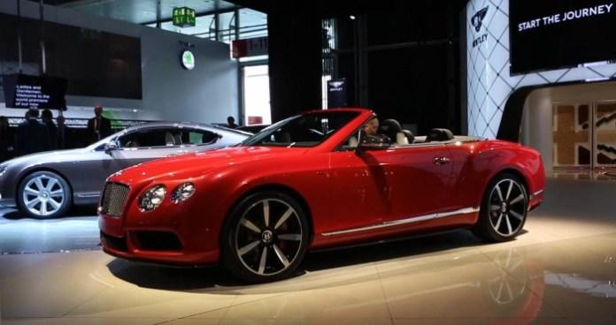 Bentley Continental GT V8 S Convertible IAA