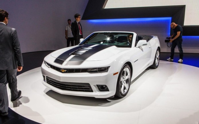 Chevrolet Camaro Convertible Facelift 2014 (4)