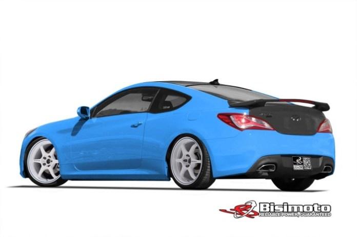 Hyundai Genesis by Bisimoto 2