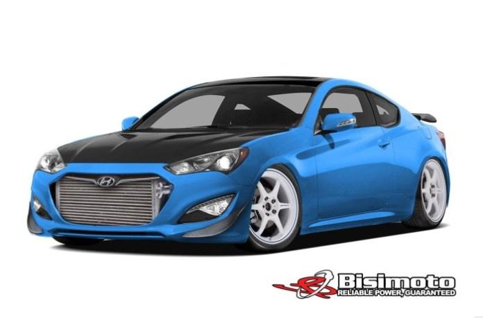 Hyundai Genesis by Bisimoto