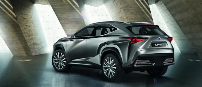 Lexus LF-NX 5