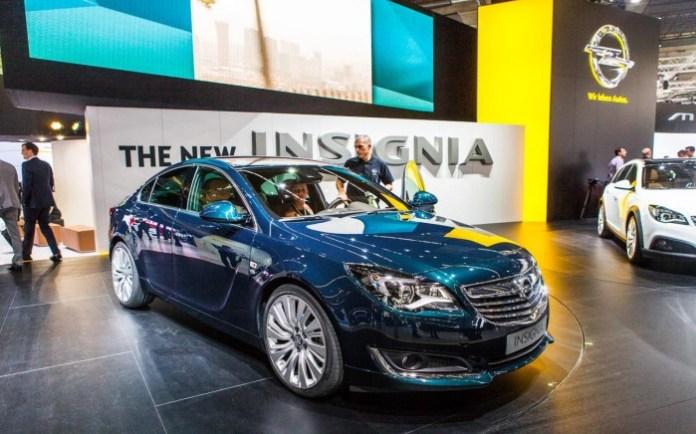 Opel Insignia Facelift 2014 Live in Frankfurt 2013 (13)