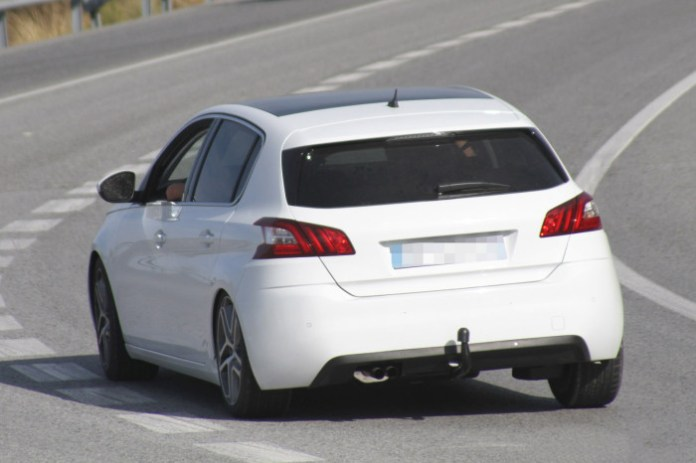 Peugeot 308 GTi 2014 Spy Photos (4)