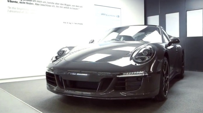 Porsche 911 Carrera 4S Exclusive Edition unveiled for the UK