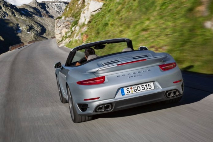 Porsche 911 Turbo Cabriolet and Turbo S Cabriolet 2014 (1)