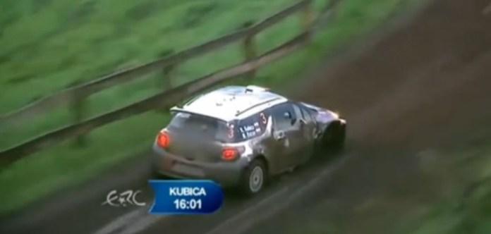 Rally Poland - Kubica