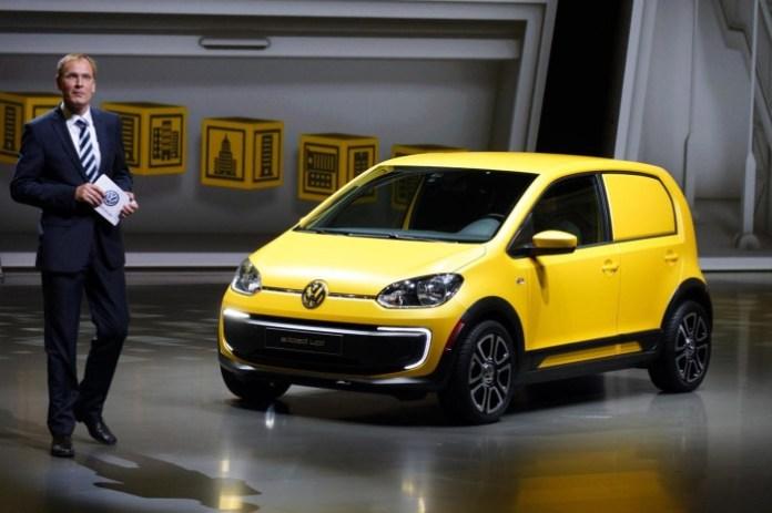 Volkswagen e-load up! concept Frankfurt