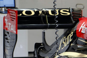 lotus e21 with the device