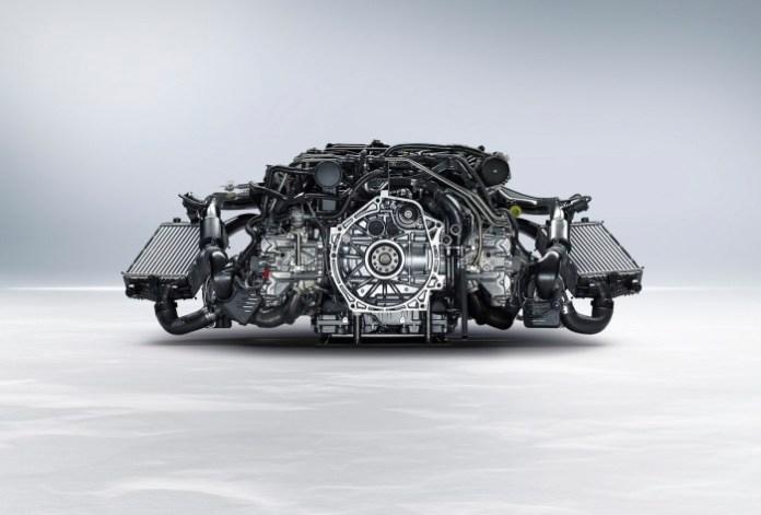 Porsche 911 Turbo 2014 Engine