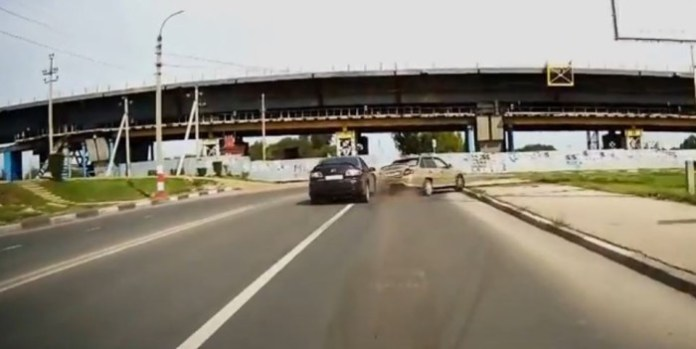 russia hit and run