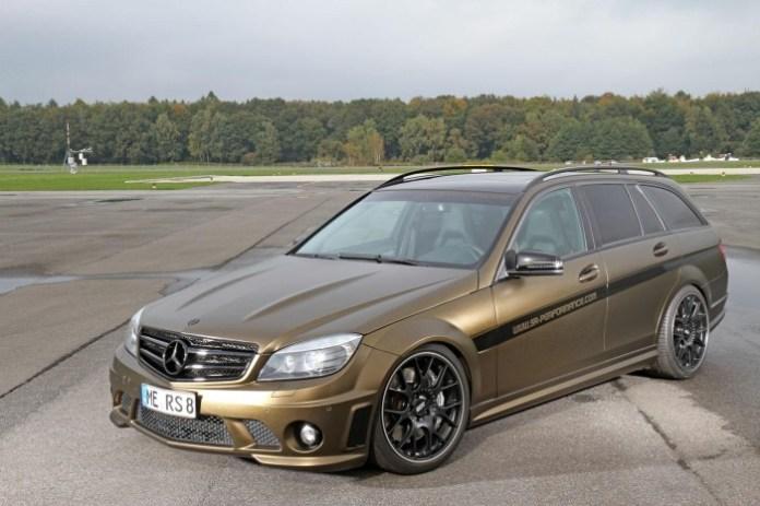 Mercedes C63 AMG Wagon by FolienCenter-NRW & SR-Performance