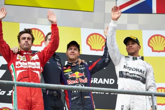 Alonso-Vettel-Hamilton