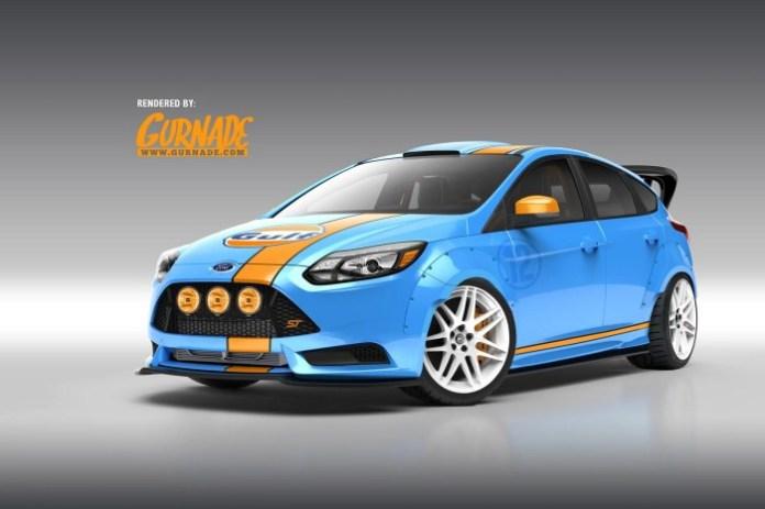 Ford Focus ST Sema 1