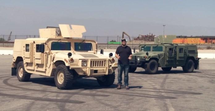 Humvee Vs M1116 HMMWV