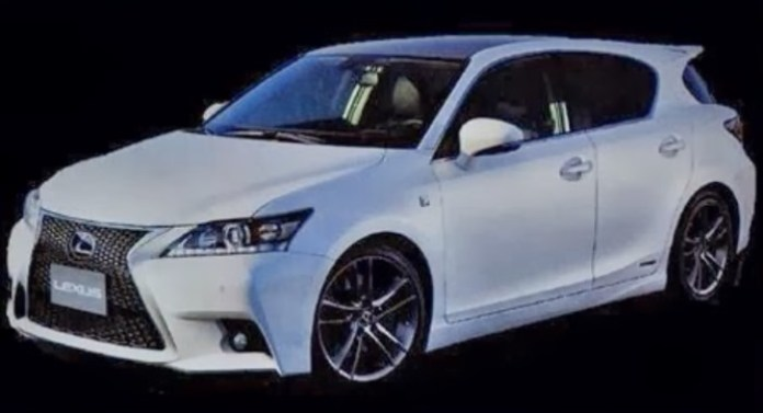 Lexus CT200h facelift 2014 leaked (2)