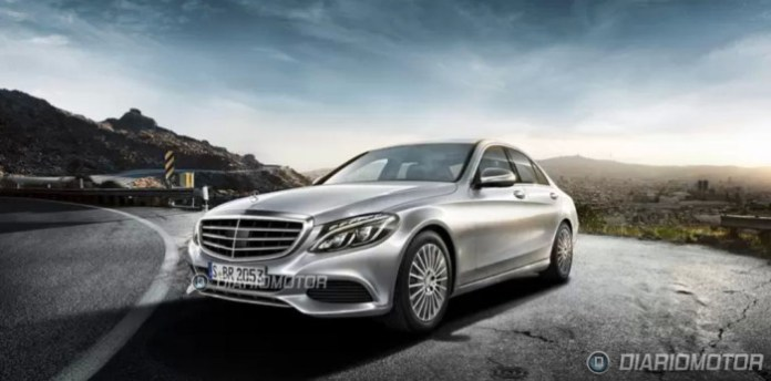 Mercedes C-Class 2014 Leaked Photos (2)