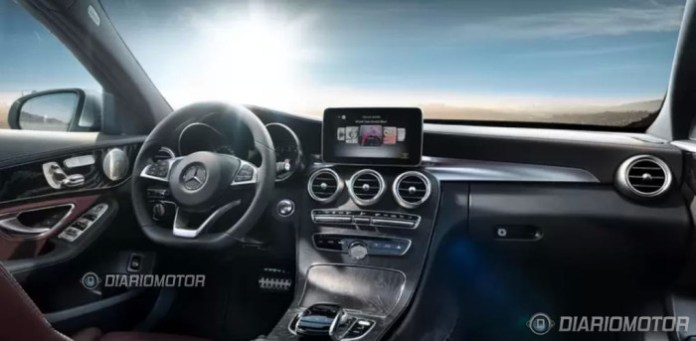Mercedes C-Class 2014 Leaked Photos (6)