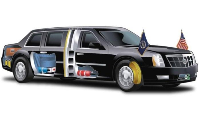 Obama Presidential Cadillac limousine (1)
