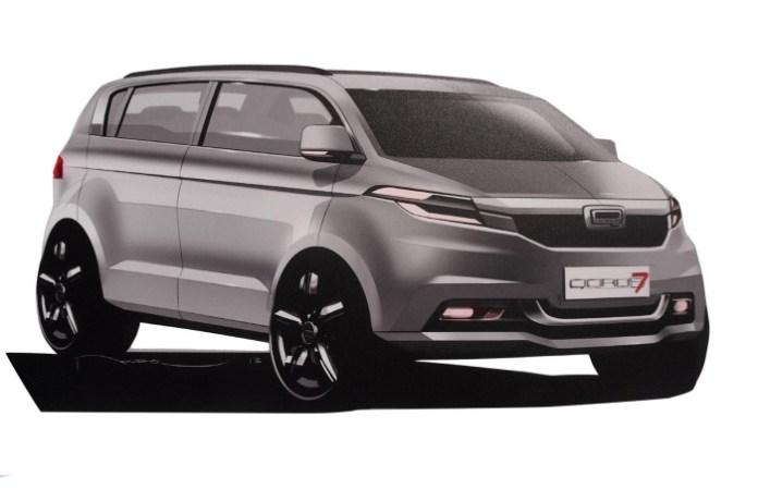 Qoros seven-seat SUV